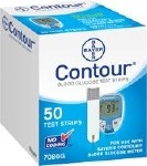 ASCENSIA CONTOUR (MICROFILL) BLOOD GLUCOSE STRIP