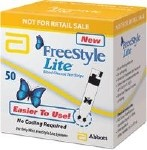 FREESTYLE LITE TEST STRIPS, BOX OF 50
