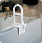 MOLDED BI-LEVEL TUB GRAB BAR, COMPOSITE 12