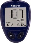 CONTROL BLOOD GLUCOSE METER ONLY