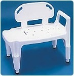 COMPOSITE BATHTUB TRANSFER BENCH, UP TO 350LBS
