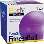FITNESS BALL, 45 CM, PURPLE